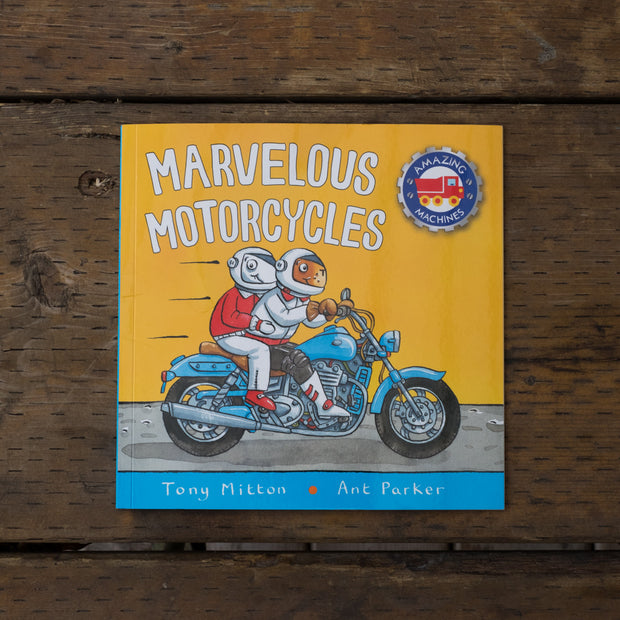 Marvelous Motorcycles Book (cover)
