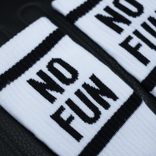 No Fun Unisex Original Socks