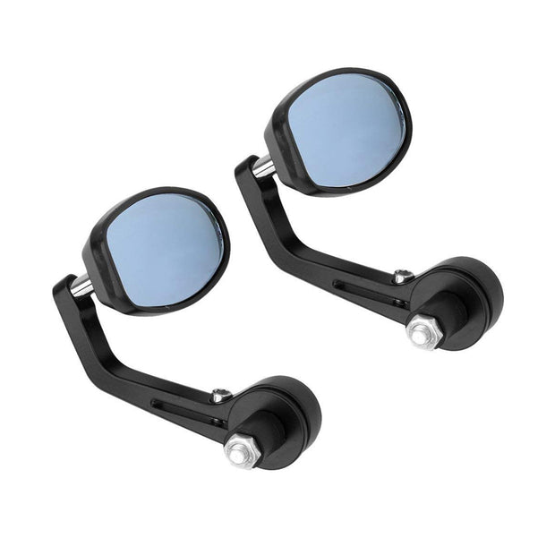 Clamp Style Oval Bar End Mirrors