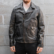 Schott PER28 Perfecto Distressed Leather Jacket