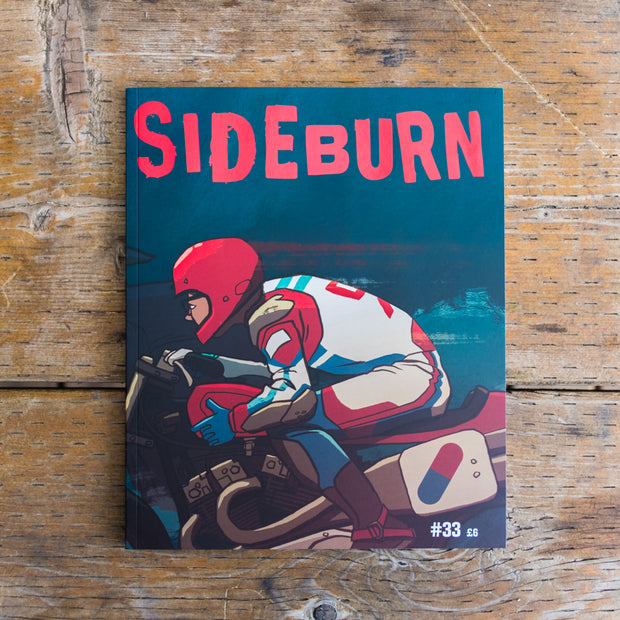 Sideburn Magazine Issue #33 , Front Cover