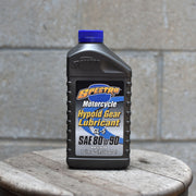 Front View of Bottle of 1 litre of Spectro GL-5 Mineral Hypoid Gear Oil (80w90)