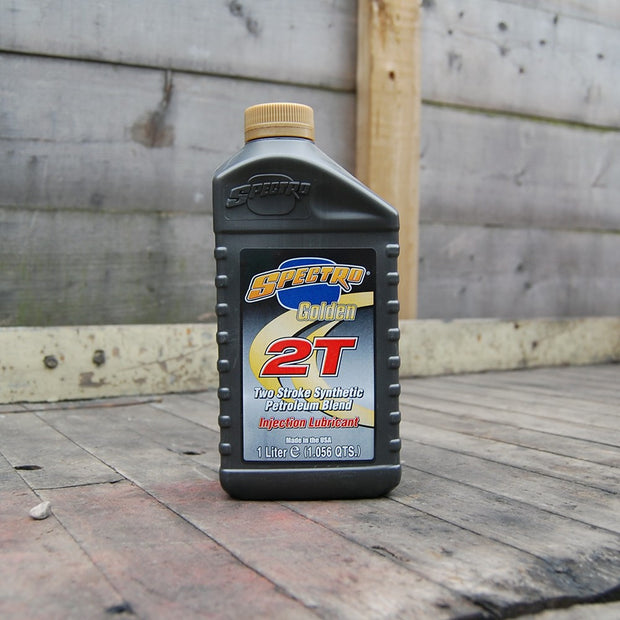 Spectro Golden 2T - Semi Synthetic Based Injector Oil (for 2 Stroke Engines)