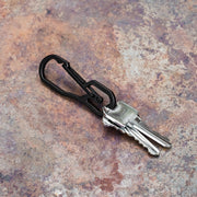 Shot of Steel Pocket Hook & Bottle Opener Keychain with Keys