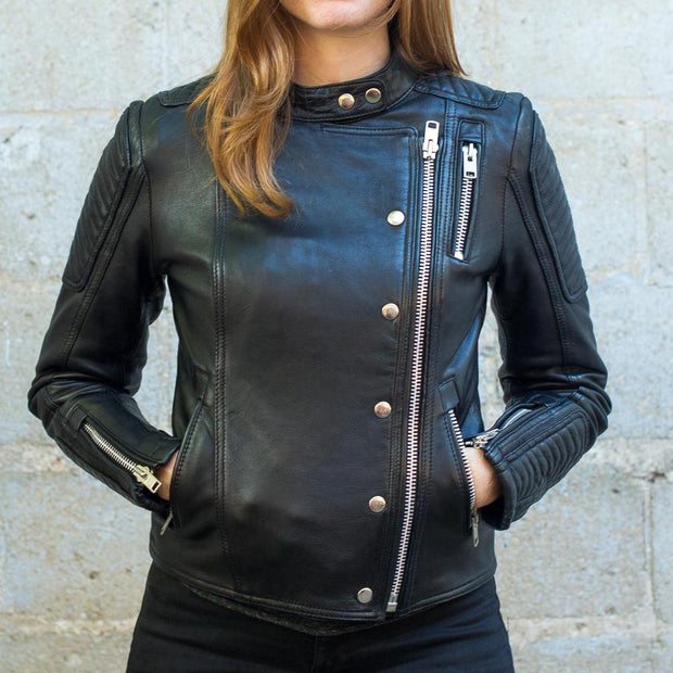 First Womens Warrior Jacket, Alternate, Black