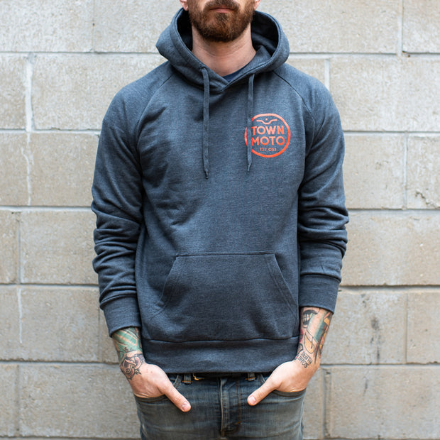 Town Moto Logo Pullover Hoody