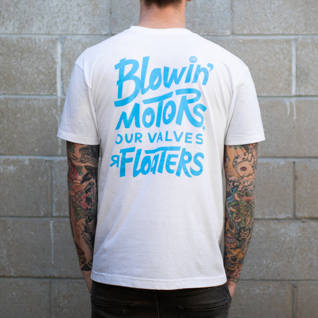 Town Moto x Slowcocks Racing Unisex Poor Piston T-Shirt