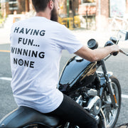 Town Moto Slowcocks Racing - Win None - Unisex (on person on bike)