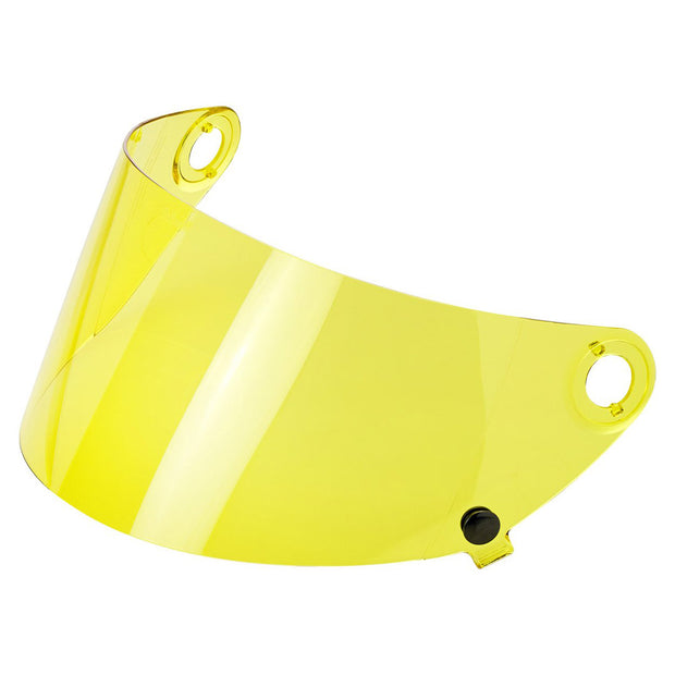 Yellow Shield for Biltwell Gringo S Motorocycle Helmet