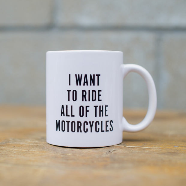 Town Moto All of the Motorcycle Mug