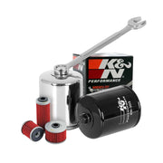 K & N Oil Filters, various sizes available at Town Moto
