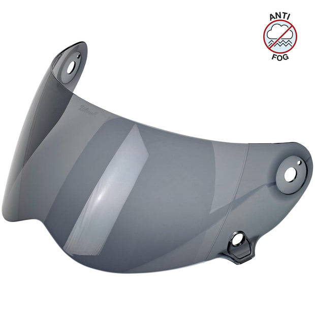 Biltwell Lane Splitter Shields, Dark Smoke