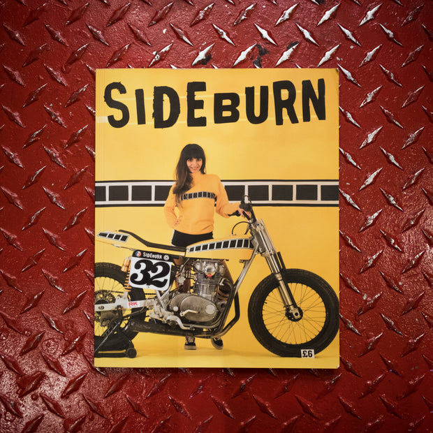 Sideburn Magazine Issue #32, Front Cover