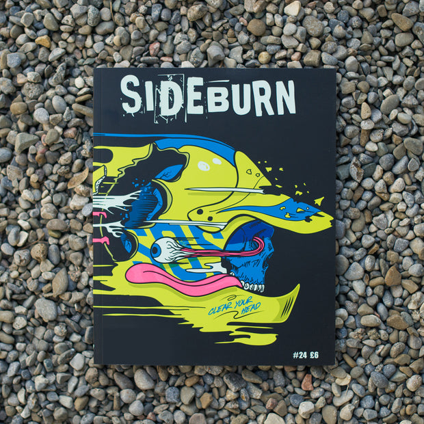 Sideburn Magazine Issue #24, Front Cover