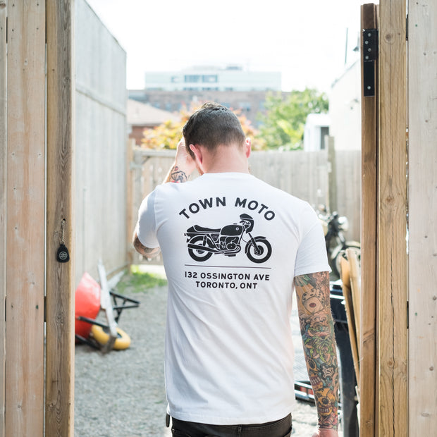 Town Moto Unisex Address T-Shirt