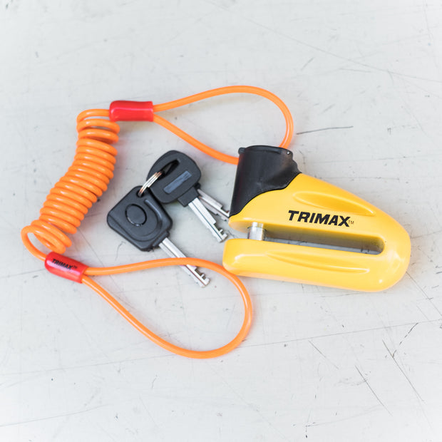 TriMax Disc Lock - 10mm Pin - Yellow