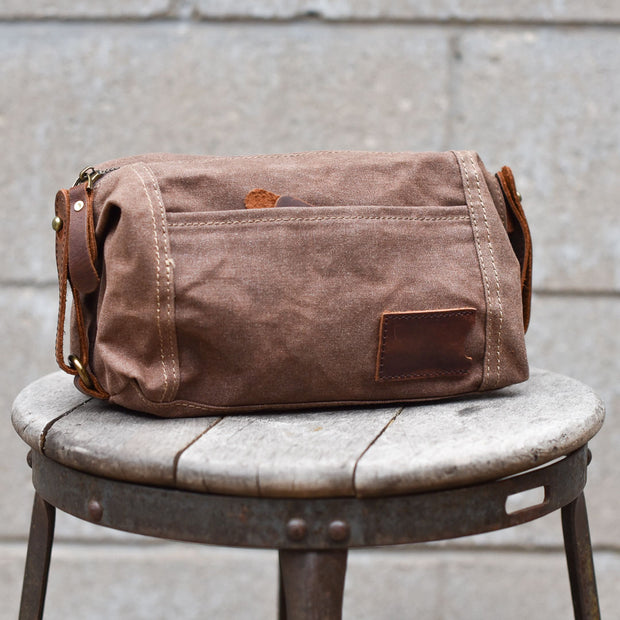 Waxed Canvas Tool Bag