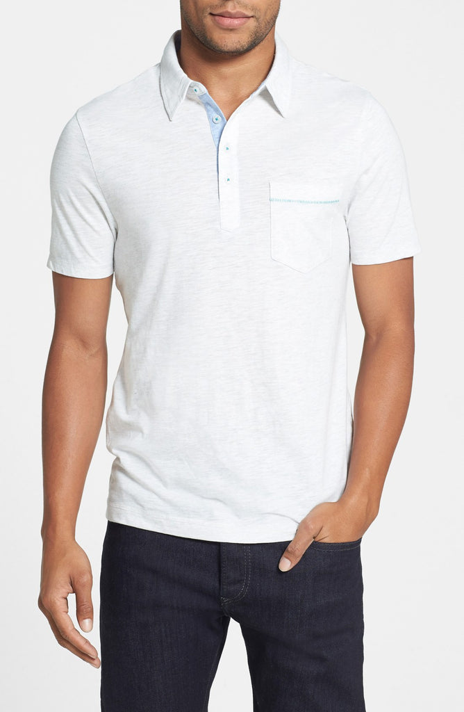 Bing' Trim Fit Cotton Jersey Polo