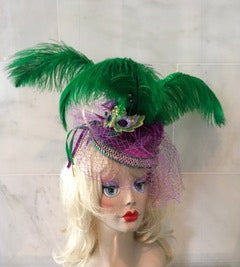 """Masquerade"" for Mardi Gras."