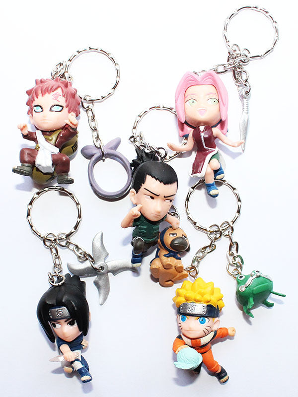 Naruto Anime Toy Key Chain Charm Gashapon