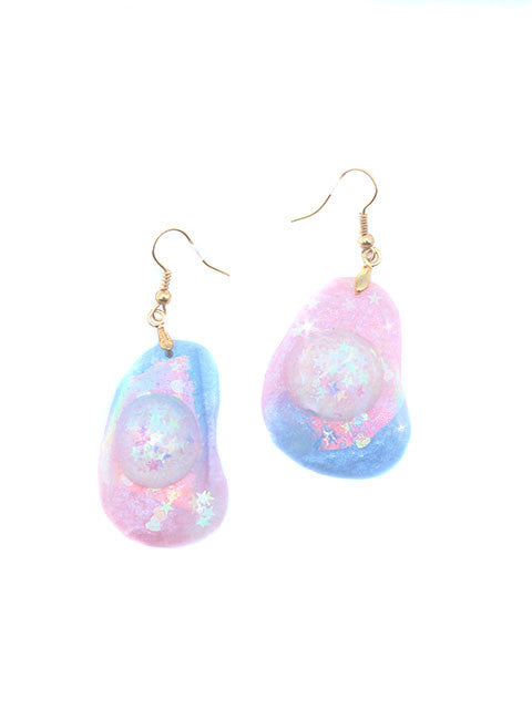 Pastel Kawaii Egg Dangle Earrings