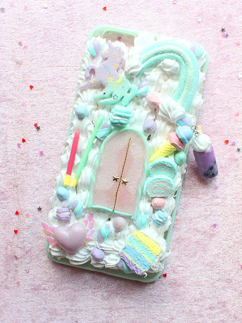 Magical Mint Castle Deco Phone Case