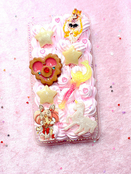 Pastel Sailor Moon Deco Phone Case For Iphone 6+