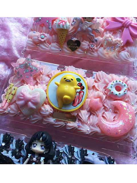 (Ready To Ship)Gudetama themed decoden New 3DS XL Case/Lazy Egg