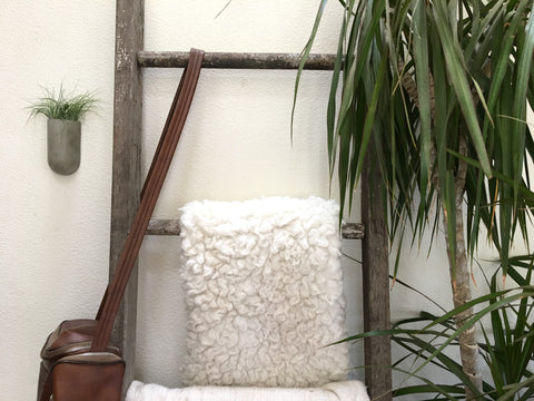 Concrete wall planter