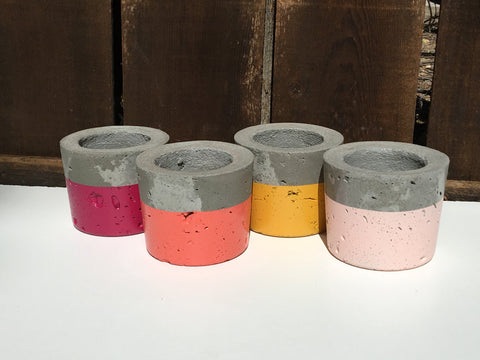Anson Design CO. Peachy Keen Concrete Planters ...