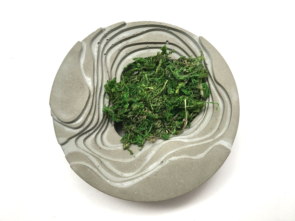 Tulum Zen Garden - Concrete Decor - Planter