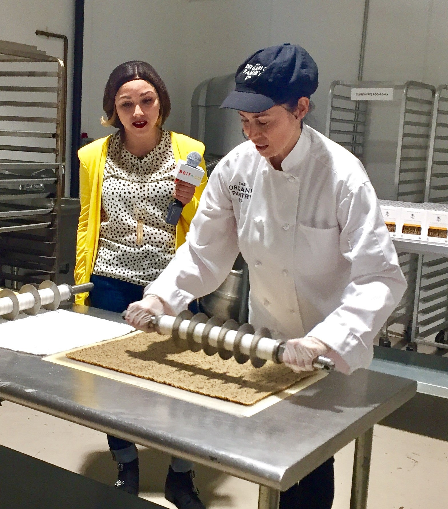 Brit & Co interview Founder Theresa Petry at KitchenTown Central