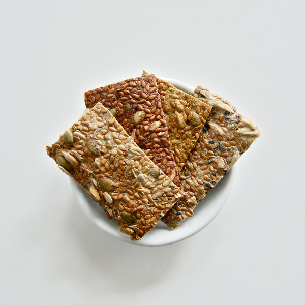 Flax Seed Cracker Sampler