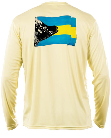 Yellow Bahamas Hogfish Flag - Disaster Relief