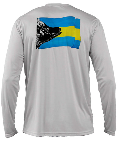 Grey Bahamas Hogfish Flag - Disaster Relief