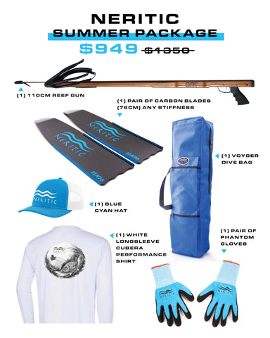 Neritic Summer Spearfishing Package