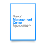 Nuance Management Centre Annual Subscription Cloud 1 to 9 users. Price per user.