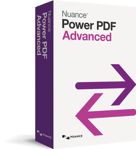 Nuance Power PDF Advanced (£139.99 Exc. VAT.)