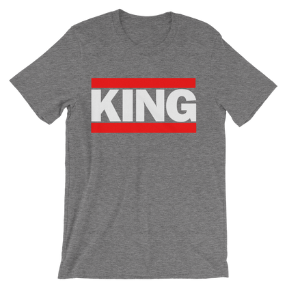 Unisex short sleeve King t-shirt - Knowledge of Self Designs