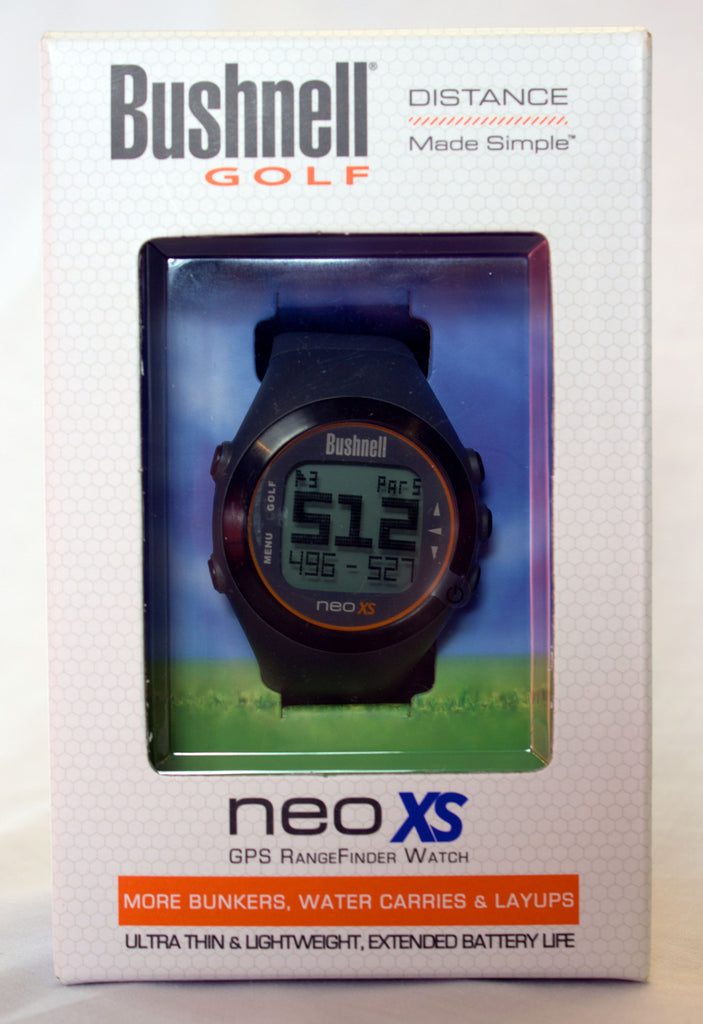 Bushnell Golf - NEO XS GPS RangeFinder Watch