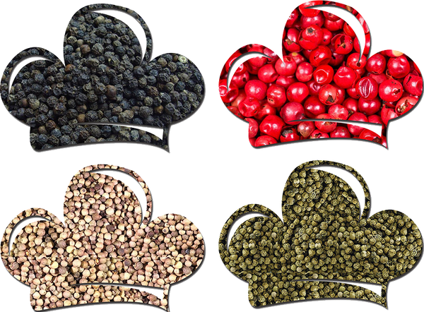 Rainbow Peppercorn Sampler Pack