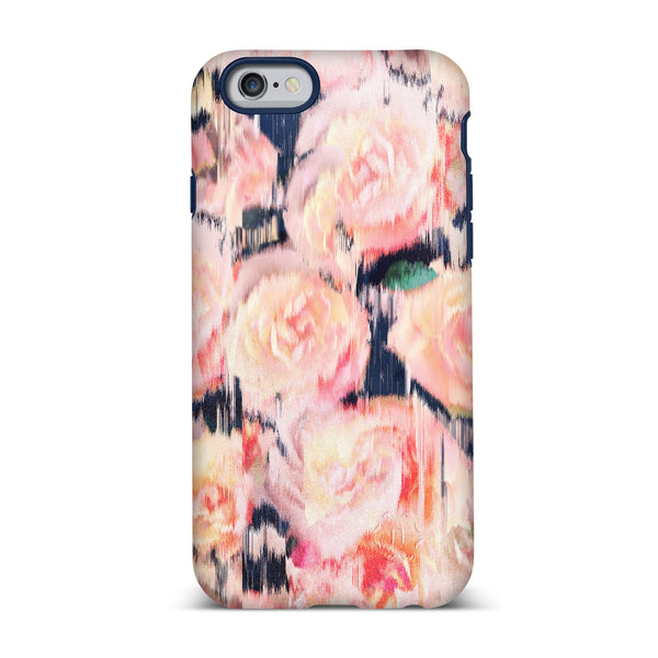 Nanette Lepore, iPhone 6 & 6S Case, ROSE - BLACKNEON