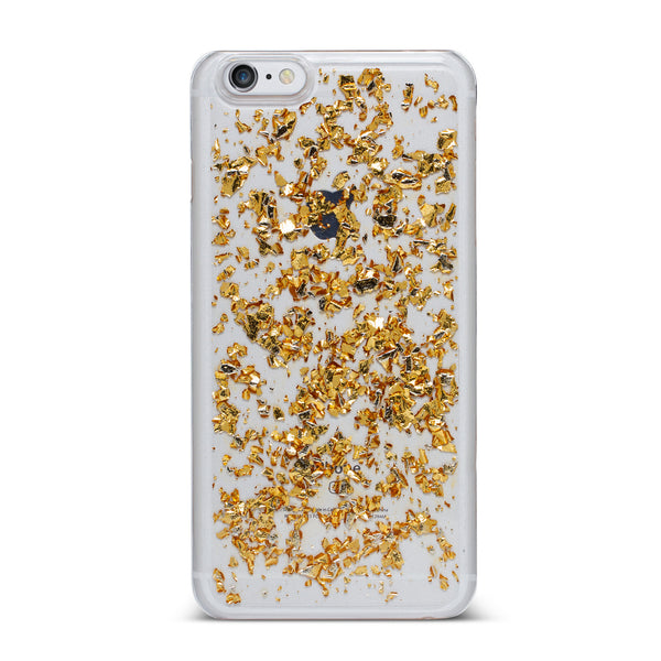 Nanette Lepore, iPhone 6 Plus & 6S Plus Case, FOIL FLAKES - BLACKNEON