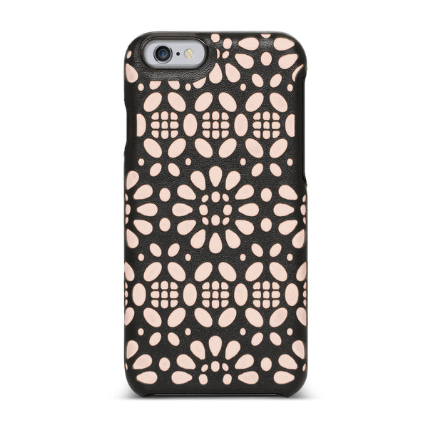 Nanette Lepore, iPhone 6 & 6S Case, LASERCUT - BLACKNEON