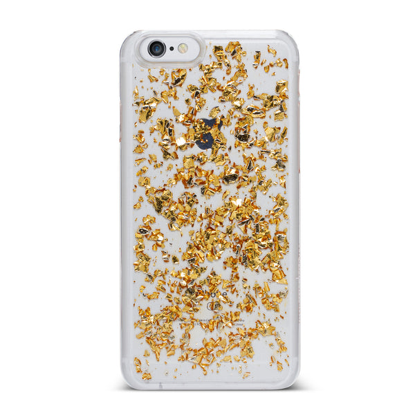 Nanette Lepore, iPhone 7 Case, FOIL FLAKES - BLACKNEON