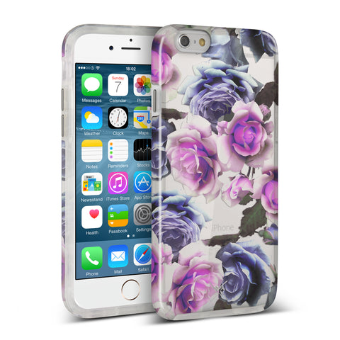 Nicole Miller, iPhone 7 Case, ROSE - BLACKNEON