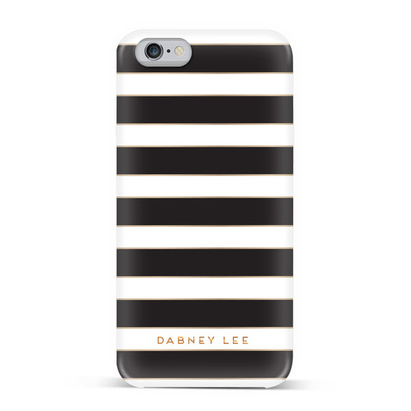Dabney Lee, iPhone 7 Case, CABANA EDGE - BLACKNEON