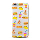 Dabney Lee, iPhone 7 Case, FOODIE - BLACKNEON