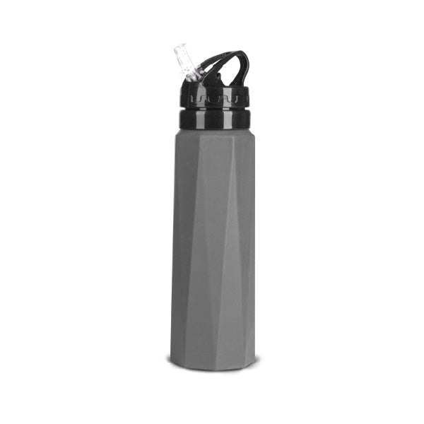 AVALANCHE, , OUTDOOR SILICONE WATER BOTTLE 24O - BLACKNEON