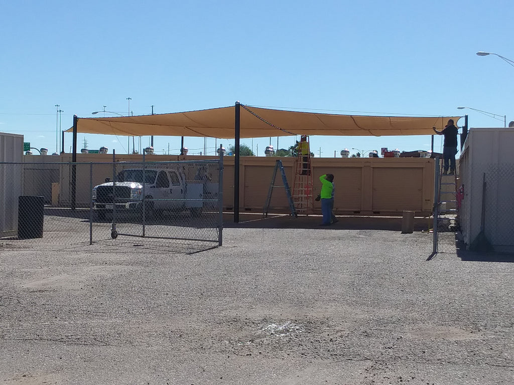 Give us a call for your next shade structure project!